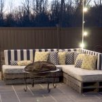 Pallet Patio Furniture Sofa