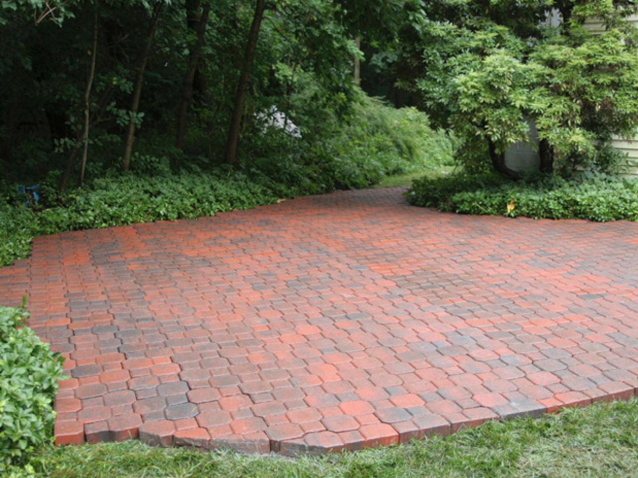 Image of: Patio Bricks Ideas