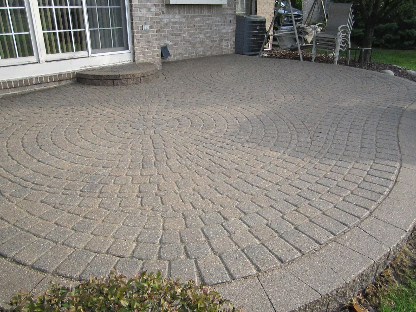 Image of: Patio Bricks Pavers
