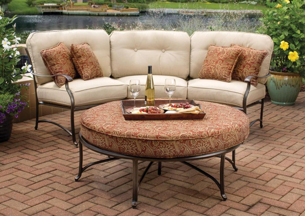 Image of: Patio Loveseat Cover