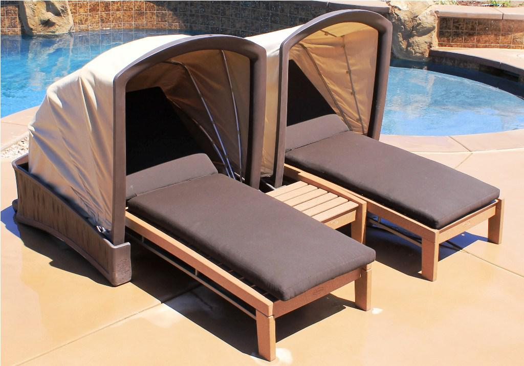 Image of: Patio Outdoor Chaise Lounge Design