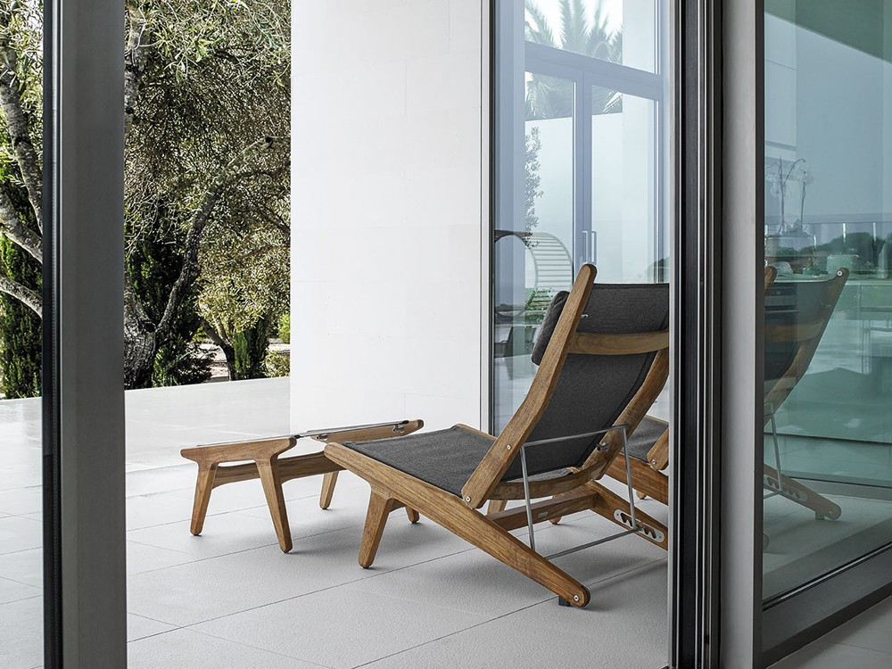 Image of: Patio  Outdoor Recliner