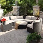 Patio Sectional Furniture Curved