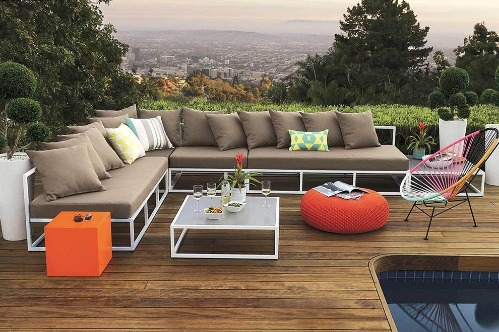 Image of: Patio Sectional Furniture Style