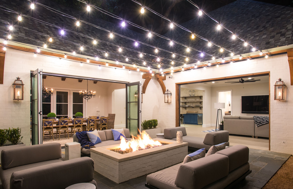Patio String Lights White
