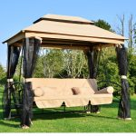 Patio Swing with Canopy Ideas