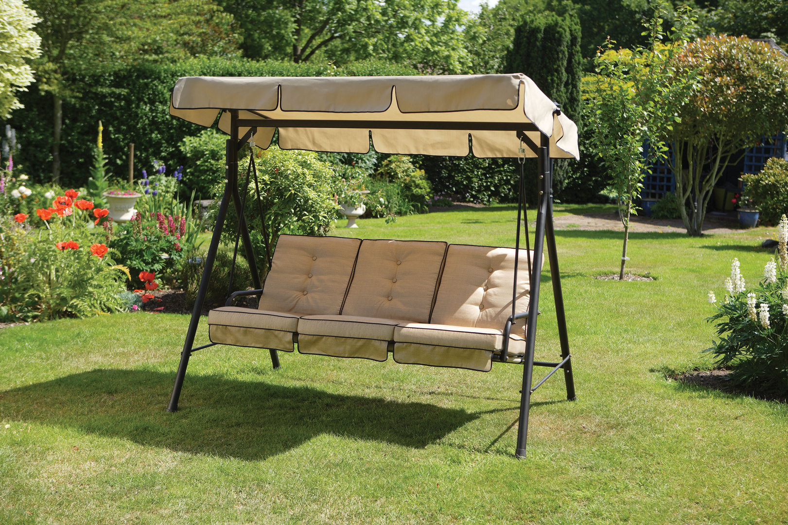 Image of: Patio Swing with Canopy Image