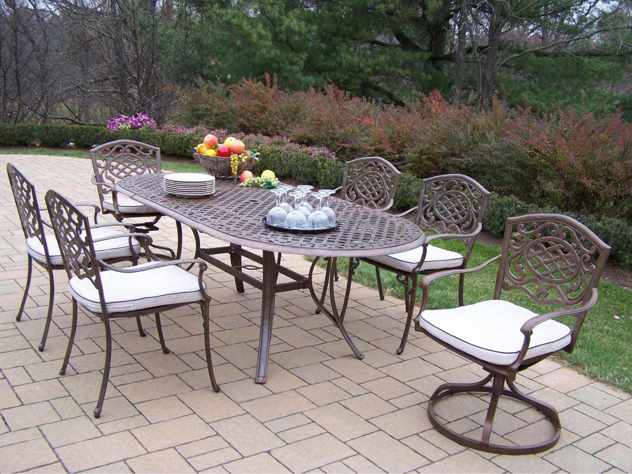 Image of: Patio Swivel Chairs Clearance