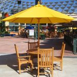 Patio Umbrellas Table