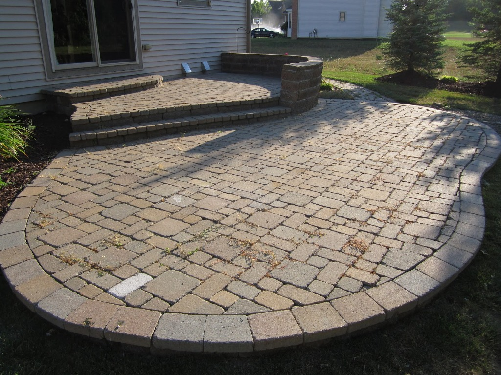 Image of: Paver Patio Designs Tools