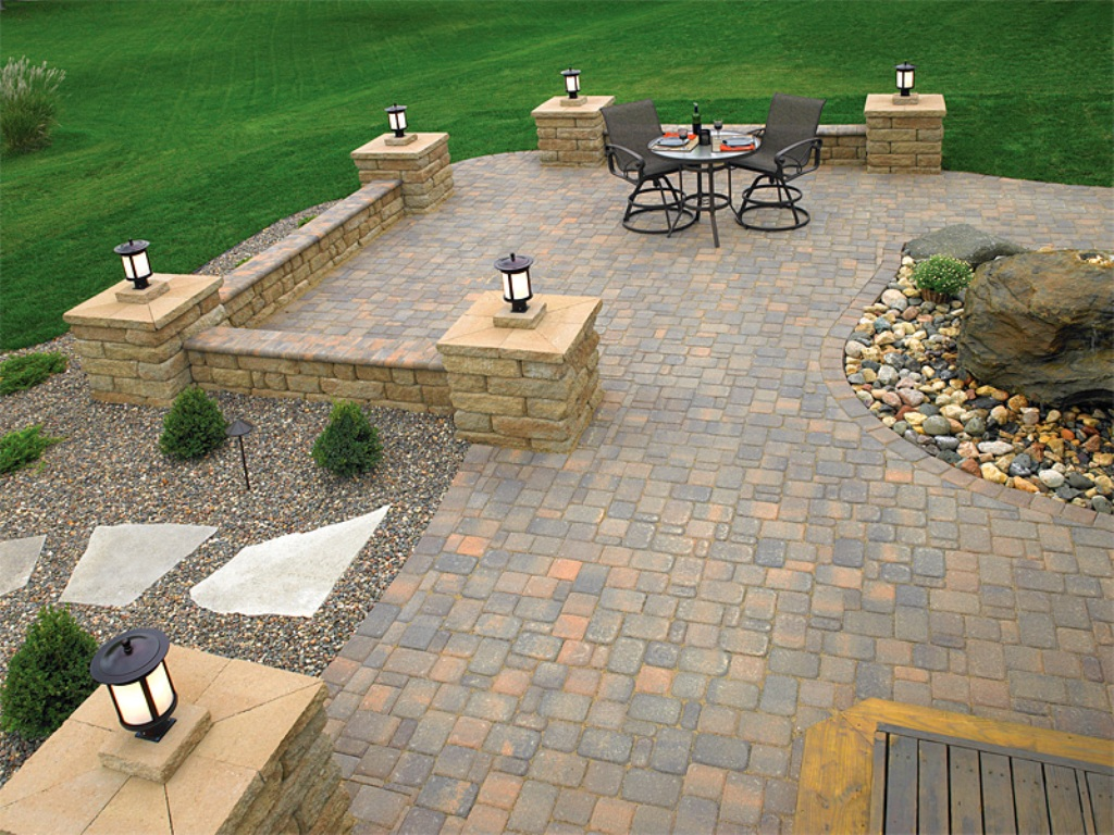 Paver Patio Designs With Pergola