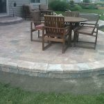 Paver Patio Finished