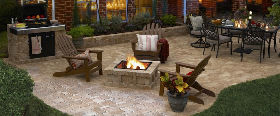 Paver Patio Outdoor