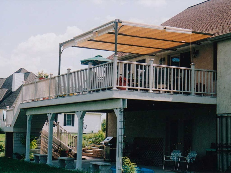 Image of: Perfect Deck Awning