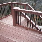 Perfect Deck Stair Railing