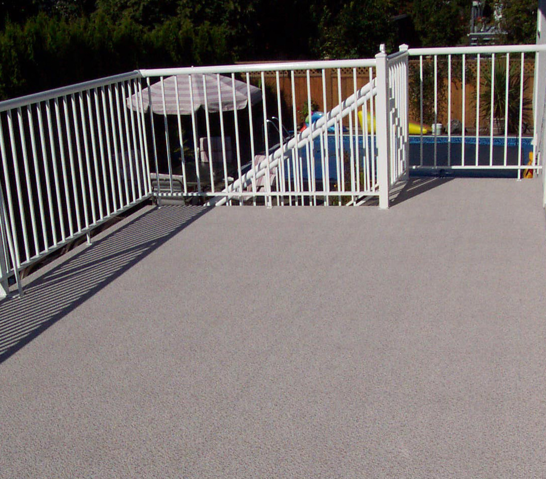 Image of: Perfect Vinyl Deck Covering