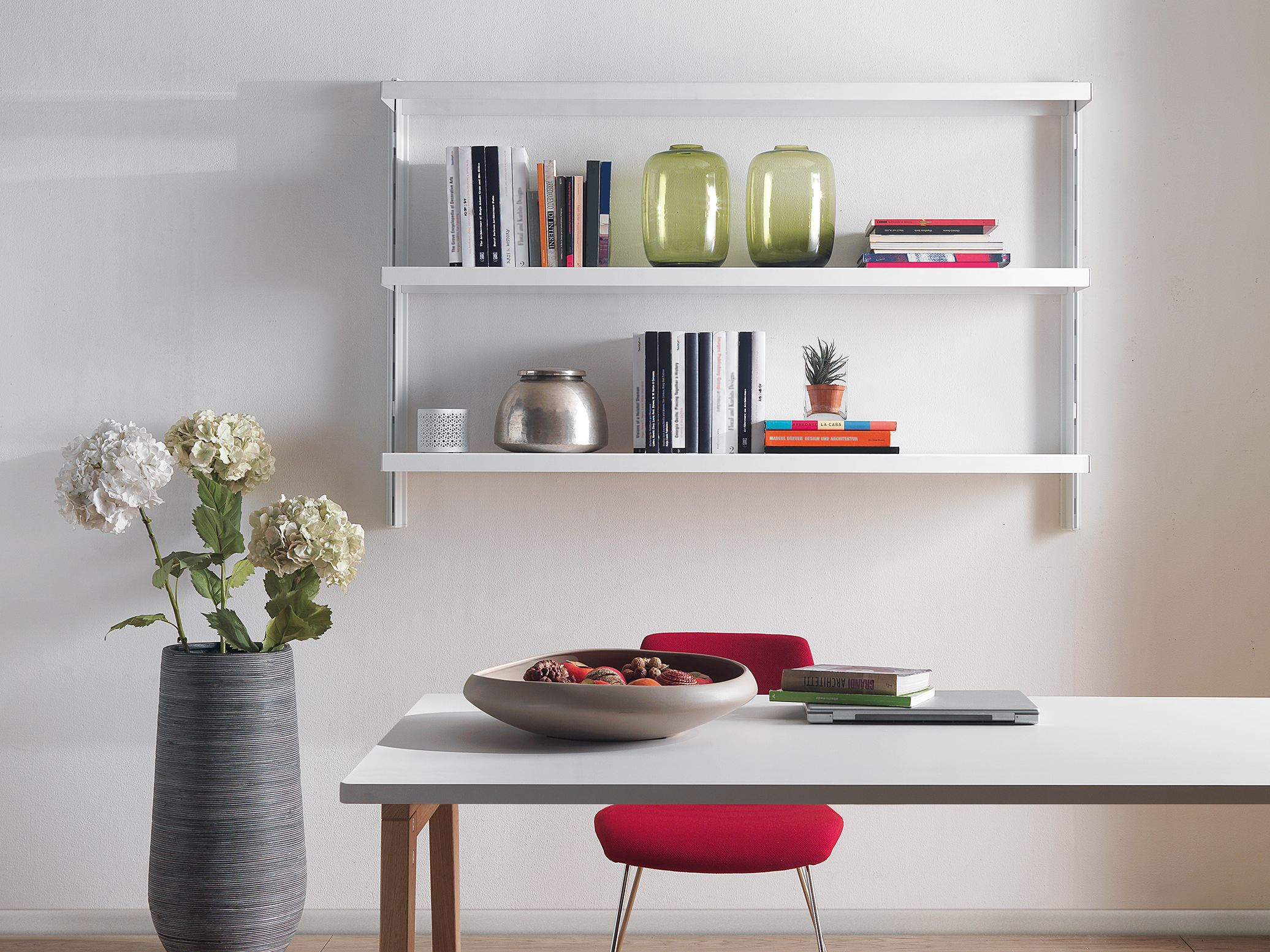 Image of: Picture Floating Bookcase