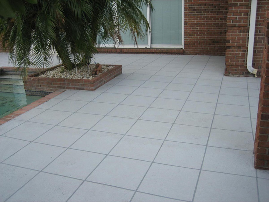 Image of: Picture Pool Deck Coatings
