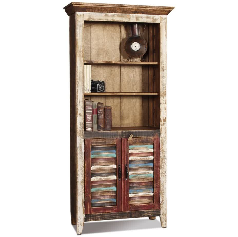 Image of: Picture of Solid Wood Bookcase