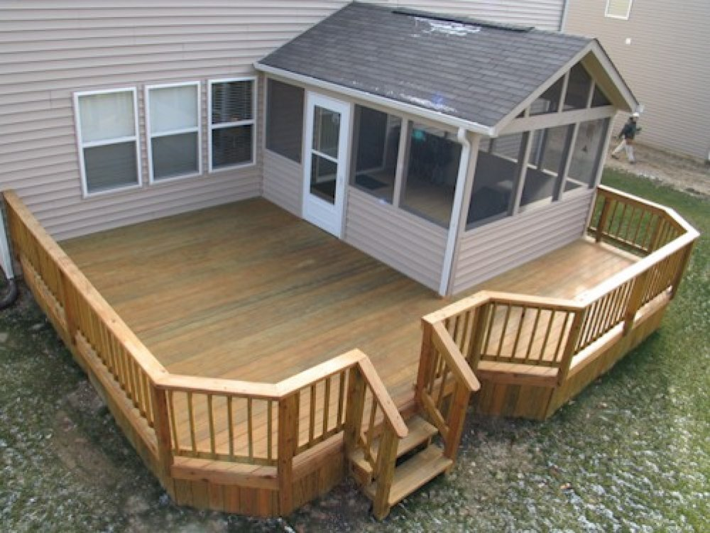 Image of: Pin Screen Rooms for Decks