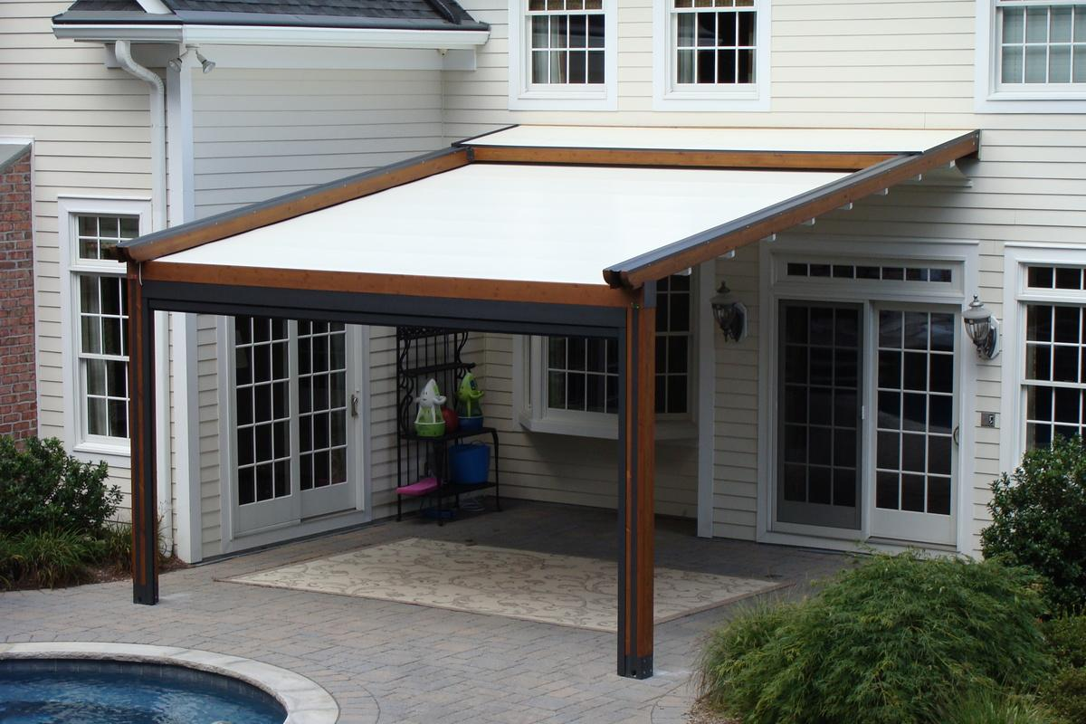 Image of: Pool Deck Covers for Shade