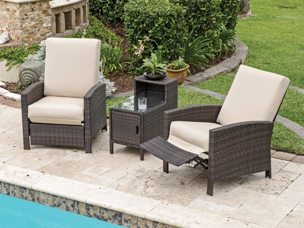 Image of: Pool  Outdoor Recliner