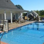 Pool Volleyball Net Install