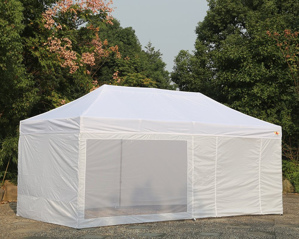 Image of: Pop Up Canopy Tent with Sides