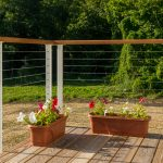 Popular Cable Deck Railing
