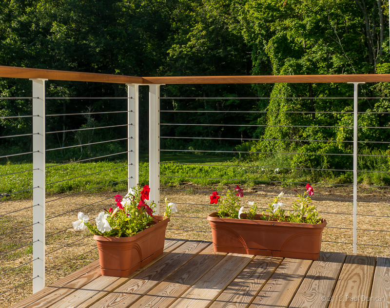 Image of: Popular Cable Deck Railing