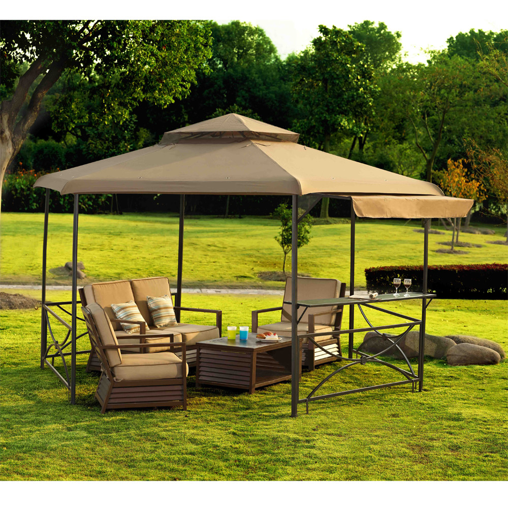 Image of: Portable Gazebo Furniture