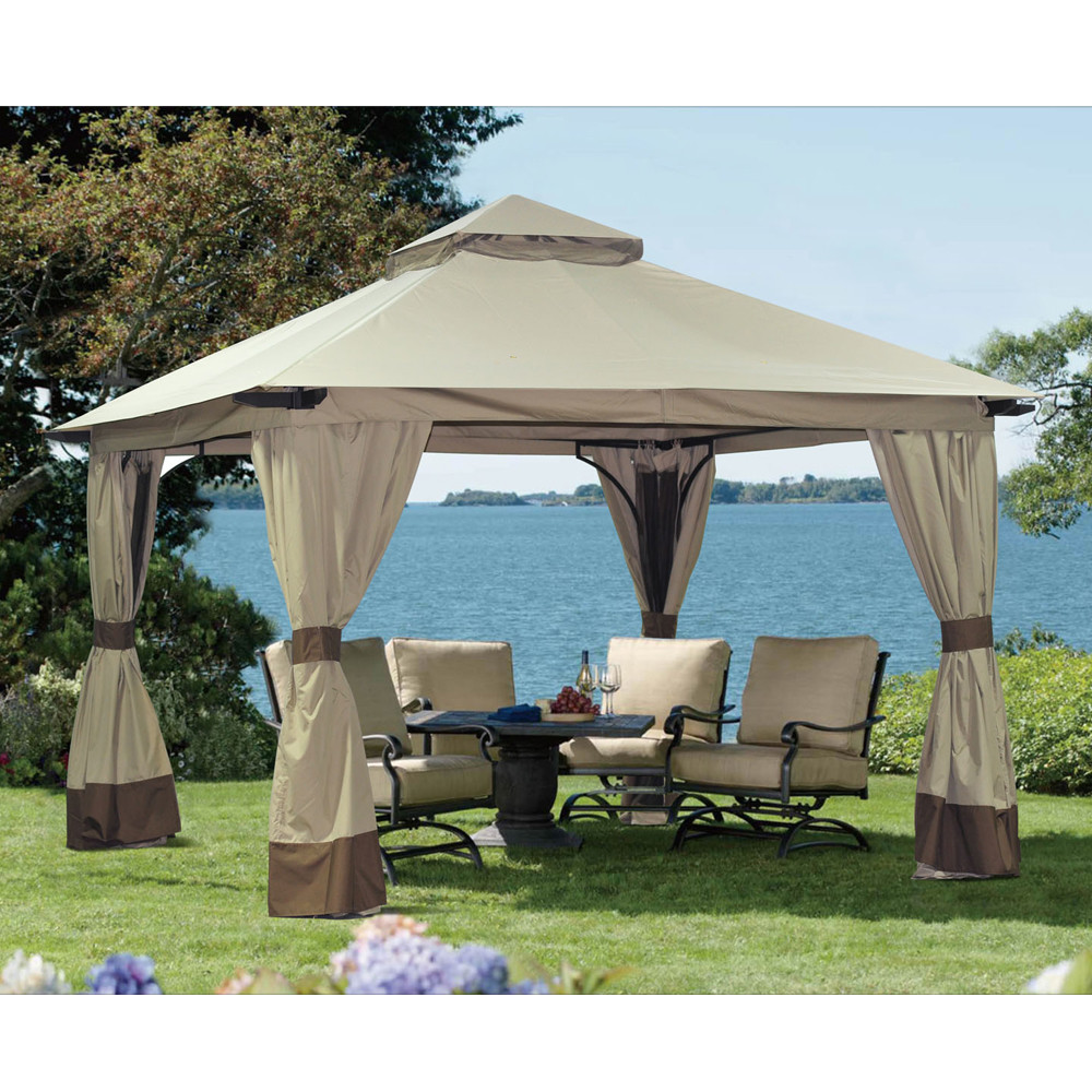 Image of: Portable Gazebo Home