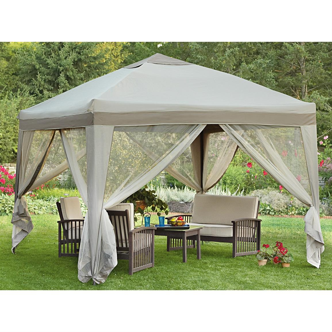 Image of: Portable Gazebo Patio