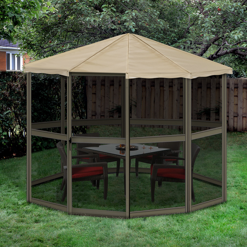 Image of: Portable Gazebo Shapes