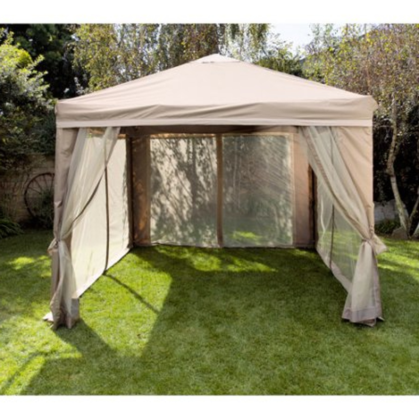 Image of: Portable Gazebo Small