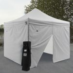 Practical Canopy Tent with Sides