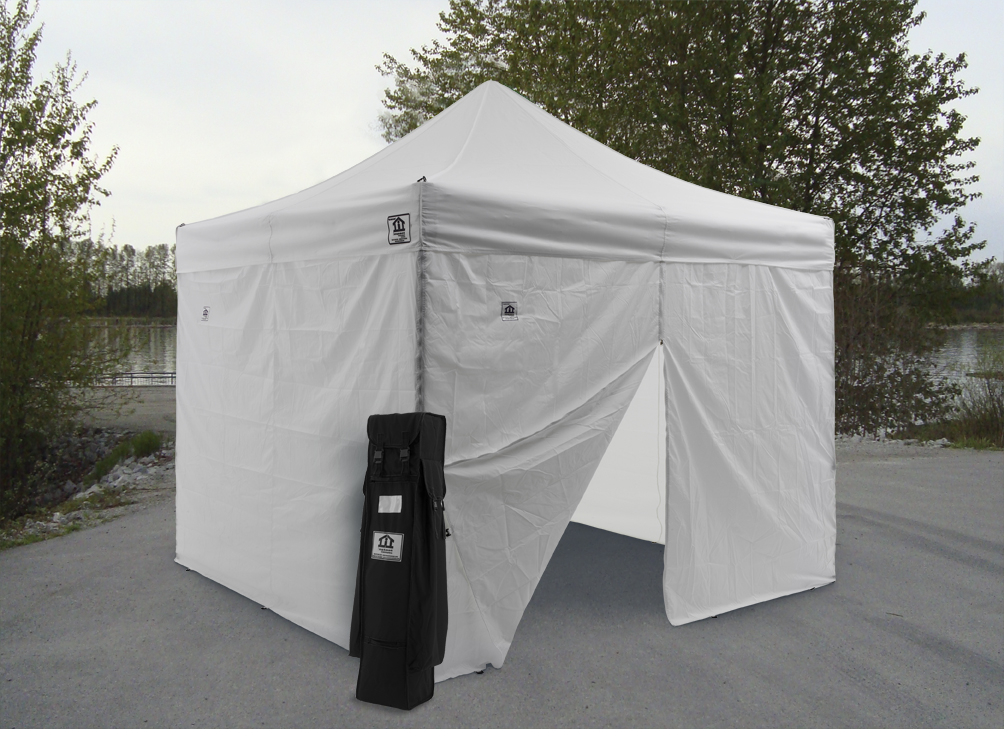 Image of: Practical Canopy Tent with Sides
