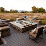 Propane Deck Fire Pit Outdoor