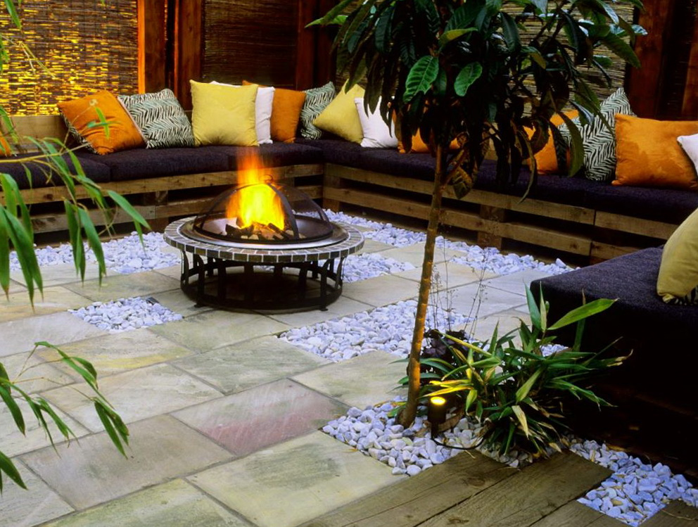Image of: Propane Deck Fire Pit Pictures Ideas