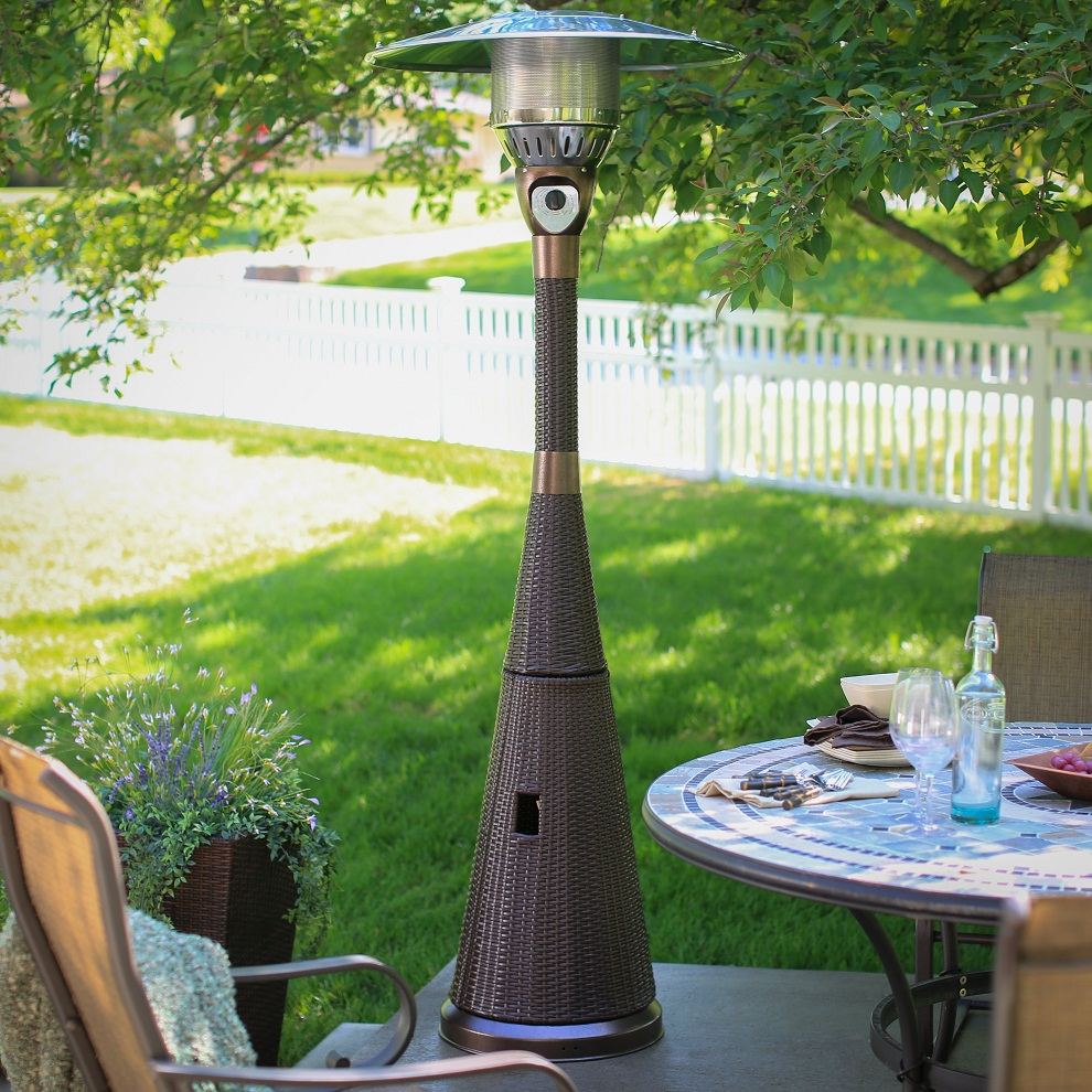 Image of: Propane Patio Heater Designs