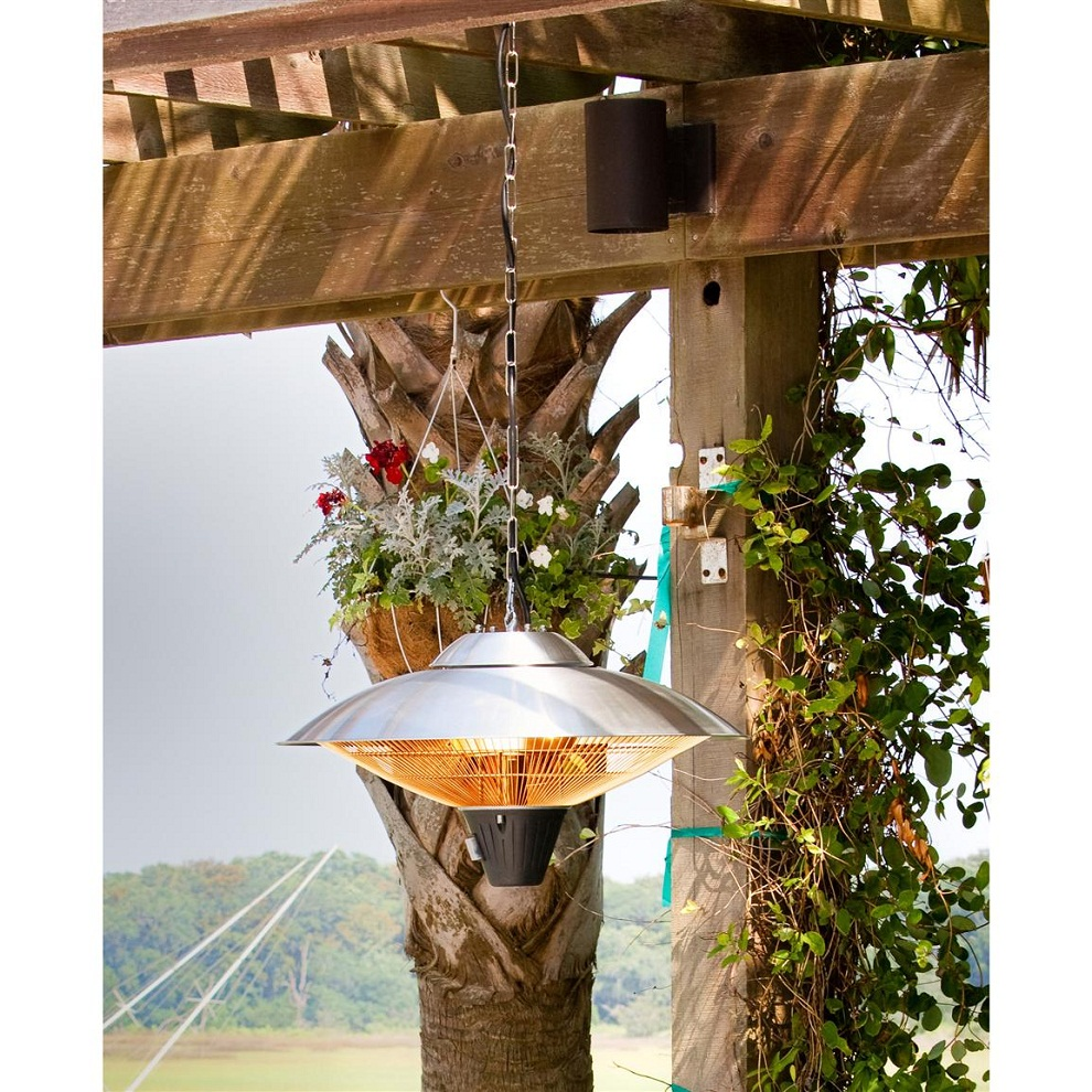 Image of: Propane Patio Heater Hanging