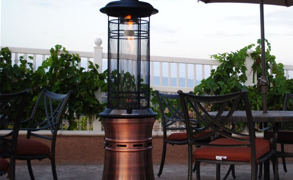 Image of: Propane Patio Heater Ideas