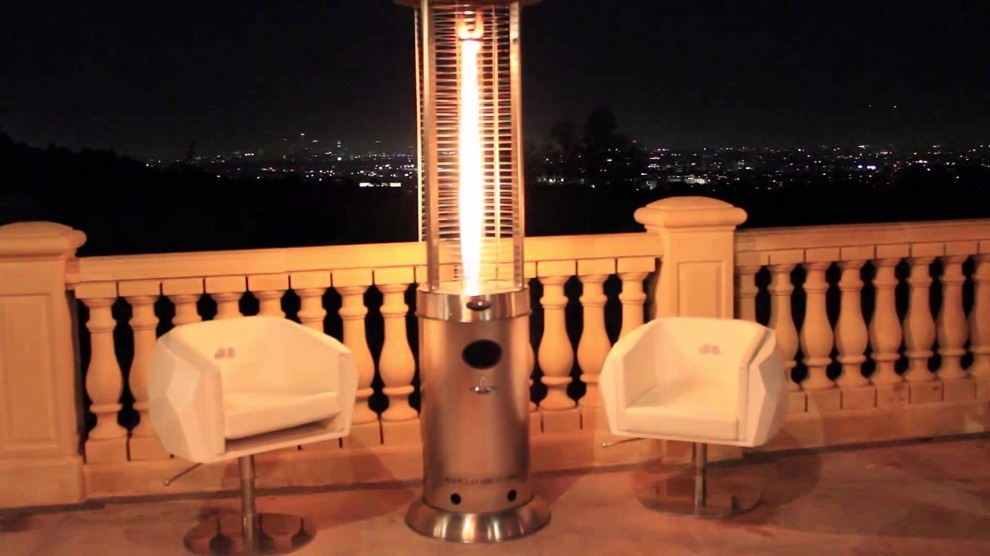 Image of: Propane Patio Heater Outdoor