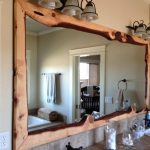 Reclaimed Wood Wall Mirror Arched