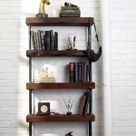 Reclaimed wood bookcase small