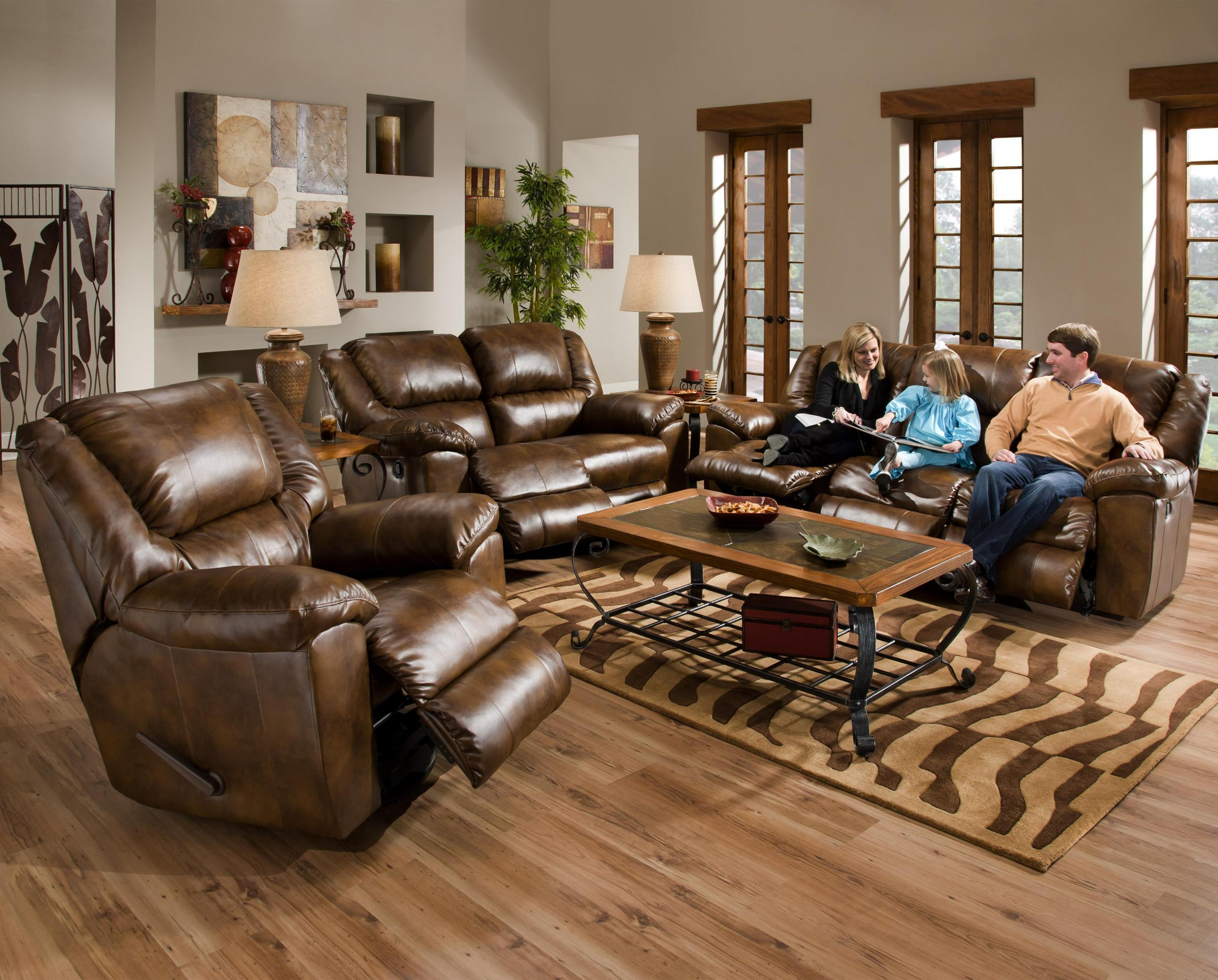 Image of: Reclining Glider And Ottoman