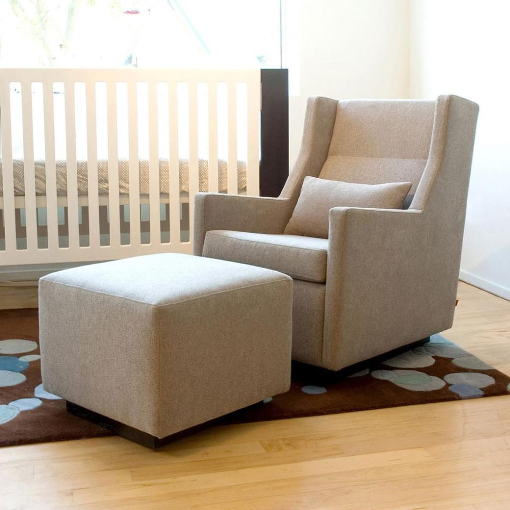 Image of: Reclining Glider For Nursery