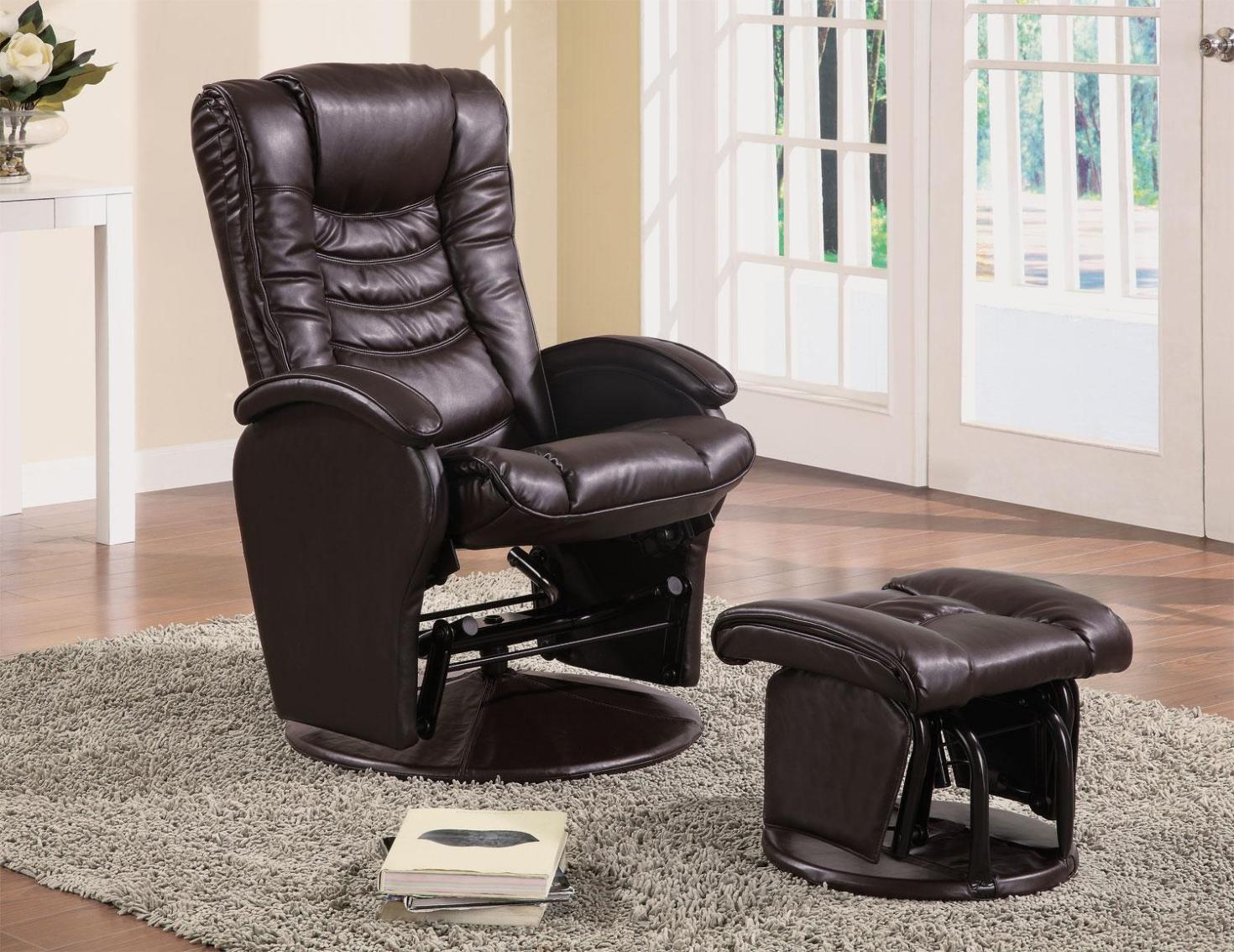 Image of: Reclining Glider Rocking Chair