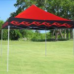 Red Canopy 10x10