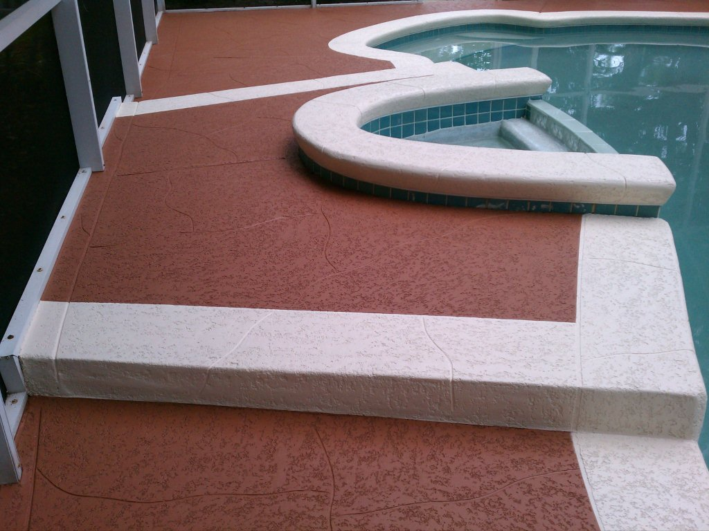 Image of: Resurface Pool Deck Image